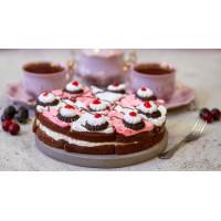 Торт Невские берега вишневая классика 900г