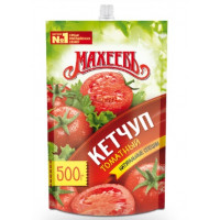 Кетчуп Махеев томатный 500г м/у