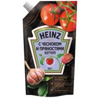 Кетчуп Хайнц с чесноком и пряностями 350г п/у