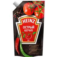 Кетчуп Хайнц острый 350г п/у