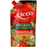 Кетчуп Мистер Рикко помодоро спешиал томатный органик 350г дой-пак
