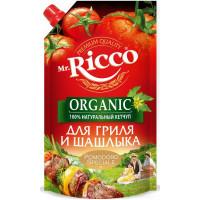 Кетчуп Мистер Рикко помодоро спешиал для гриля и шашлыка био 350г дой-пак
