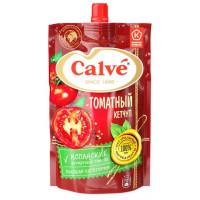 Кетчуп Кальве томатный 350г м/у