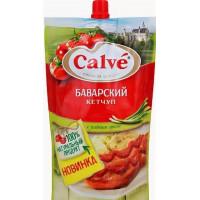 Кетчуп Кальве баварский 350г м/у