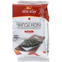 Чипсы-Нори Сэн Сой кимчи из морской капусты 4,5г