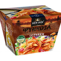 Вермишель Сэн Сой фунчоза под японским соусом терияки 125г