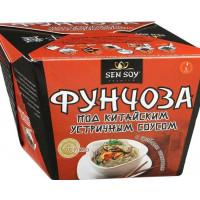 Вермишель Сэн Сой фунчоза под китайским устричным соусом с грибами шиитаке 125г