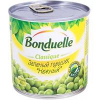 Горошек Бондюэль зеленый нежный ж/бн 400г