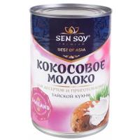 Молоко Сэн Сой кокосовое 400мл