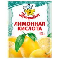 Кислота Приправыч лимонная 10г