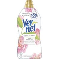 Кондиционер Вернель для белья ароматерапия пион и белый чай 1,82л