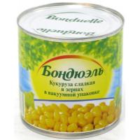 Кукуруза Бондюэль сладкая ж/бн 340г