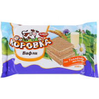 Вафли РотФронт Коровка топленое молоко 150г