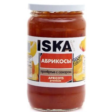 Абрикос Иска протертые с сахаром 420г ст/б