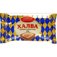 Халва Азовская КФ тахинно-арахисовая 250г