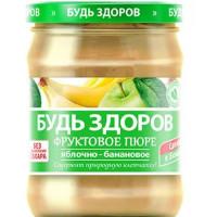 Пюре АВС Яблочно-банановое без сахара 450г