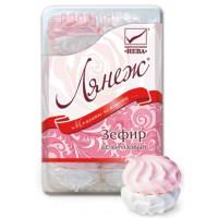 Зефир Нева бело-розовый 420г