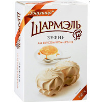 Зефир Ударница крем-брюле 255г