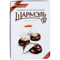 Зефир Ударница Шармель в шоколаде классический 250г