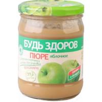 Пюре АВС Яблочное без сахара 450г
