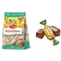 Конфеты Красный Октябрь желейные со вкусом апельсина 250гр