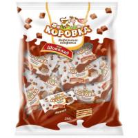Конфеты РотФронт коровка шоколад вафельная 250г
