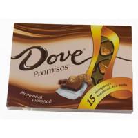 Шоколад Дав Промисэс ассорти молочный 118г