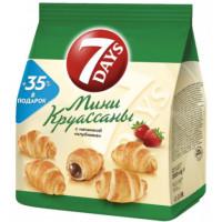 Круассаны Чипита 7 Дней мини клубника 300г