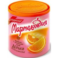 Мармелад Ударница мармеландия апельсиновые дольки 250г