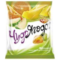 Мармелад Чудо Ягода нежный вкус яблока/апельсина/дыни 250г
