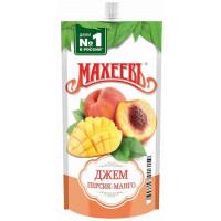 Джем Махеев персик-манго 300г дой-пак