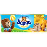 Пирожное Медвежонок Барни с бананово-йогуртовой начинкой 150г