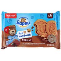 Сэндвич Медвежонок Барни Фан Оригинальные с кусочками темного шоколада 180г
