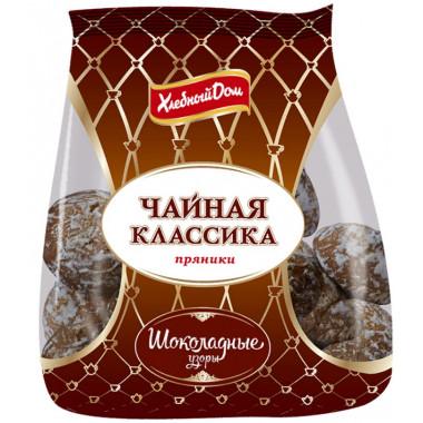 Пряники Фацер шоколадные узоры 500г