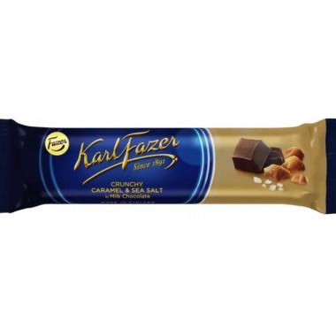 Батончик Фазер молочный шоколад-карамель-морская соль 37г