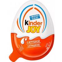 Яйцо шоколадное Киндер джой классическое 20г