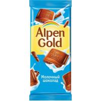 Шоколад Альпен Гольд молочный 90г