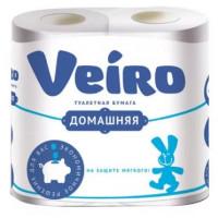Бумага туалетная Виеро Домашняя 2-х слойная 4рулона