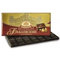 Шоколад Бабаевский горький с целым фундуком 200г