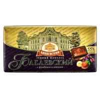 Шоколад Бабаевский темный с фундуком и изюмом 100г