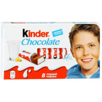 Шоколад Киндер ферреро молочный 100г