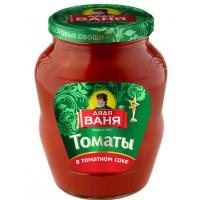 Томаты Дядя Ваня в томатном соке 680г