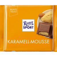 Шоколад Риттер Спорт карамельный мусс 100г