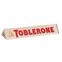 Шоколад Тоблерон белый с медом и миндальной нугой 100г