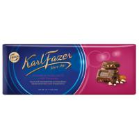 Шоколад Фазер молочный с орехами фундука и изюмом 200г