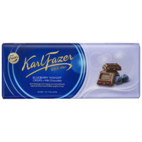 Шоколад Фазер молочный с черникой и йогуртом 190г