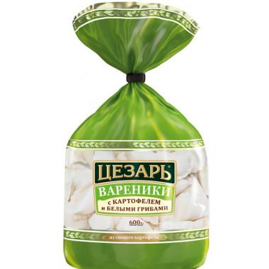 Вареники Цезарь с картофелем и белыми грибами 600г