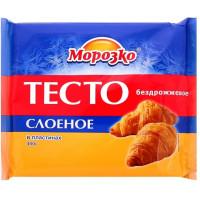 Тесто Морозко слоеное бездрожжевое 400г