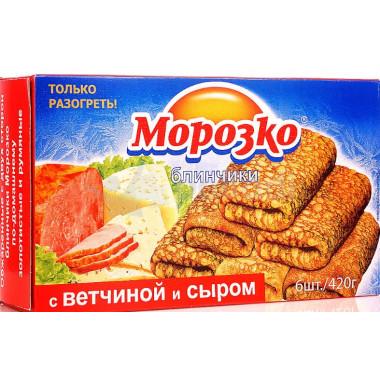 Блинчики Морозко с ветчиной и сыром 420г