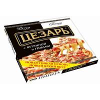 Пицца Цезарь с ветчиной и грибами 420г
